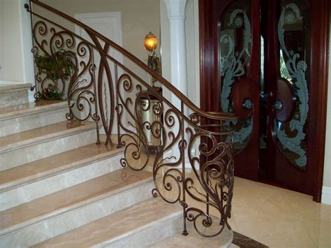 decorative banisters decorative stair with decorative wrought iron stair