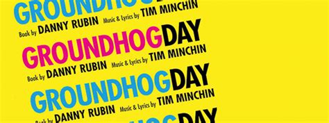 groundhog day logo billetter til groundhog day londonmusikaler no