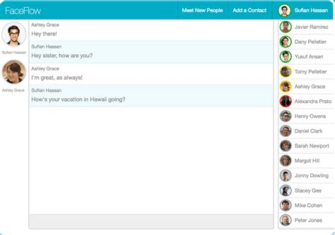 Live Chat Room Mobile - free chat chat with friends faceflow