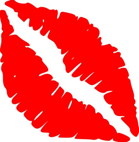 clipart lips red lips kiss clip art at clker vector clip art