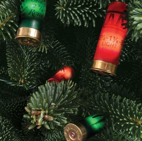 shotgun shell christmas lights a hunting themed christmas for the naughty list