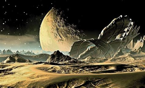 Military Wall Mural space alien planet paper wallpaper homewallmurals
