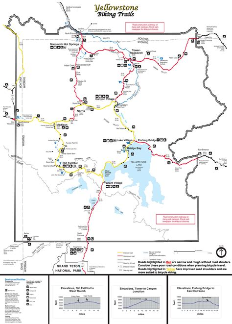 yellowstone park map they told us not to ride bikes in yellowstone national park the radavist