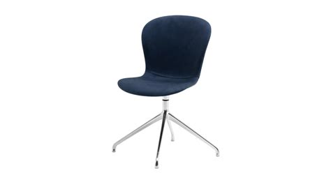 Dining chairs adelaide blue leather swivel dining chair