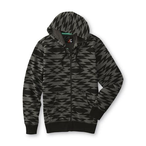 tribal pattern jackets amplify young men s hoodie jacket tribal pattern