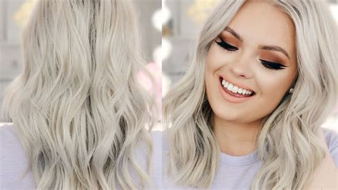 blonde hairstyles youtube how to platinum blonde hair youtube