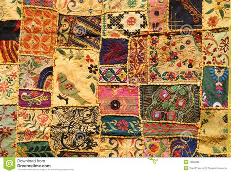 Indian Patchwork - indian patchwork royalty free stock photo image 7655335