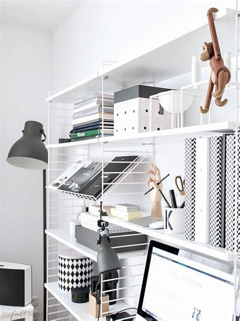 home office scandinavian workspace www my full house com home office kącik do pracy w stylu skandynawskim