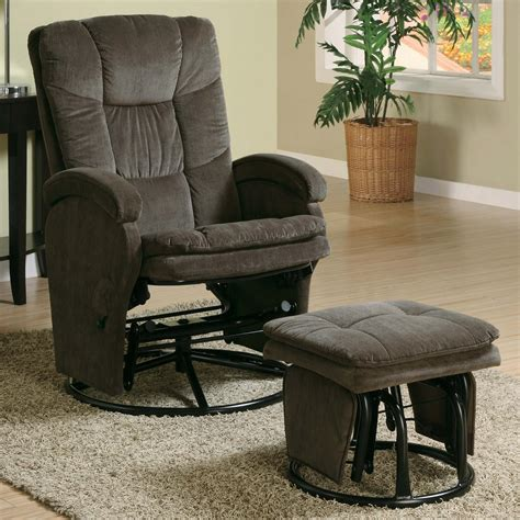 palliser recliner with ottoman coaster recliners with ottomans 600159 casual reclining