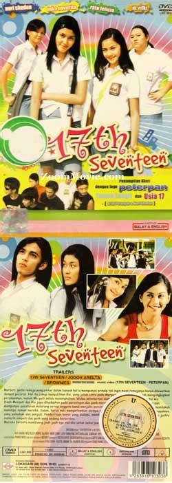 subtitle indonesia film cart 17th seventeen dvd indonesian movie 2006 cast by ratu