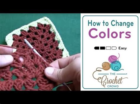 how to change one color to another in photoshop how to crochet a square changing color