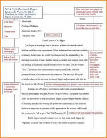 Exles Of Mla Essays by 4 Mla Format Paper Cna Resumed