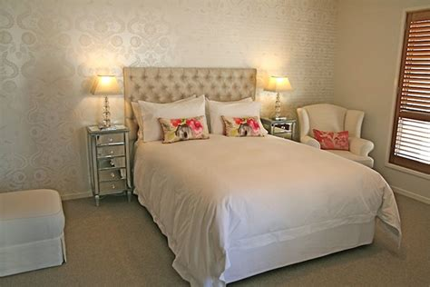 silver bedroom decorating ideas wallpaper metallic wallpaper contemporary girl s room