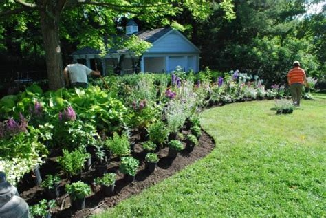perennial garden layout perennial garden design dirt simple