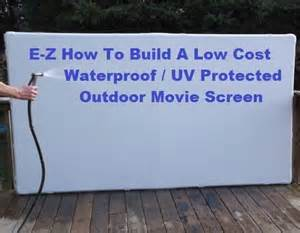 diy backyard projector screen projection screen free and screens on