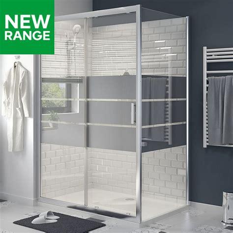 B Q Shower Doors Shower Enclosures Doors Shower Fittings Diy At B Q