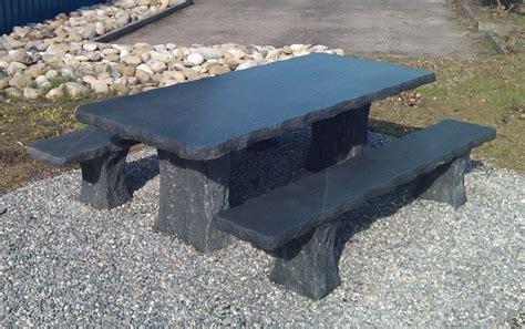 steintisch garten ursprung granittische gartentische gartenm 246 bel