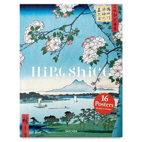hiroshige poster set taschen hiroshige poster box set blick art materials