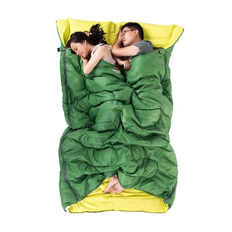 two person pillow naturehike 2 person cotton sleeping bag with pillow