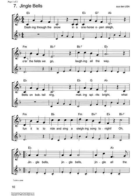 printable sheet music for jingle bells jingle bells sheet music music for piano and more