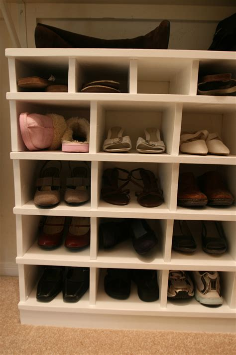 shoe storage organiser white shoe organizer diy projects