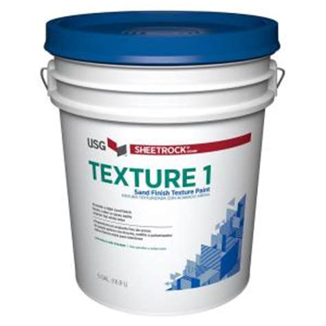 home depot paint with sand sheetrock brand 5 gal wall and ceiling sand finish