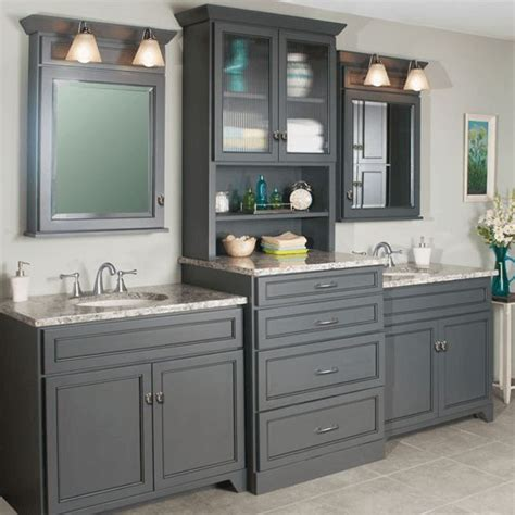 Bathroom Vanities With Storage Towers Best 25 Vanity Ideas On Pinterest Master Bath Sink Vanity And Grey Bathroom Vanity