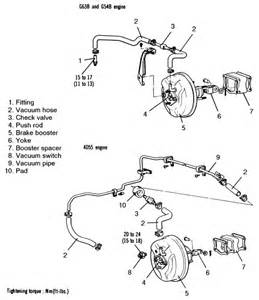 Mdx Check Brake System Repair Guides Brake System Power Brake Booster
