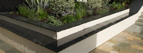 modern garden wall garden wall building and rendering white of witchton