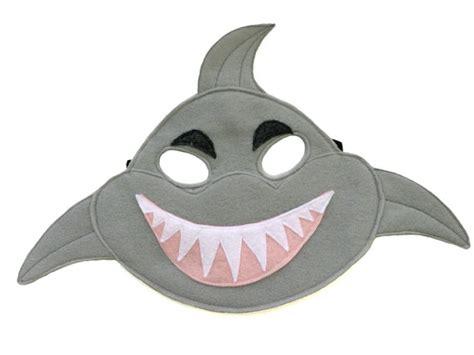 printable shark mask template children s shark felt mask