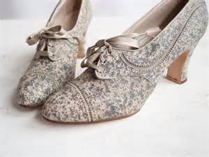 vintage shoes vintage wedding shoes boots onewed