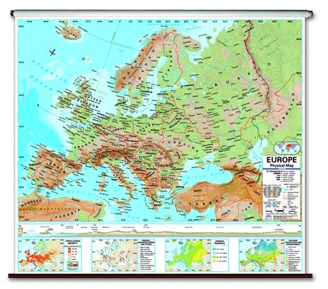 physical map europe 12 physical map europe