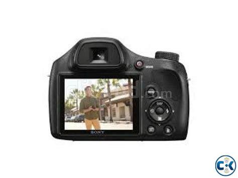 Kamera Sony Semi Dslr sony h400 semi dslr 720 hd 63xzoom 20 1mp clickbd