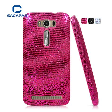 Shinning Chrome Asus Zenfone 2 Laser 5 0 Ze500kl Soft Back original capas for asus zenfone 2 laser ze500kl ze500kg 5 0 quot back cover bling style fashion