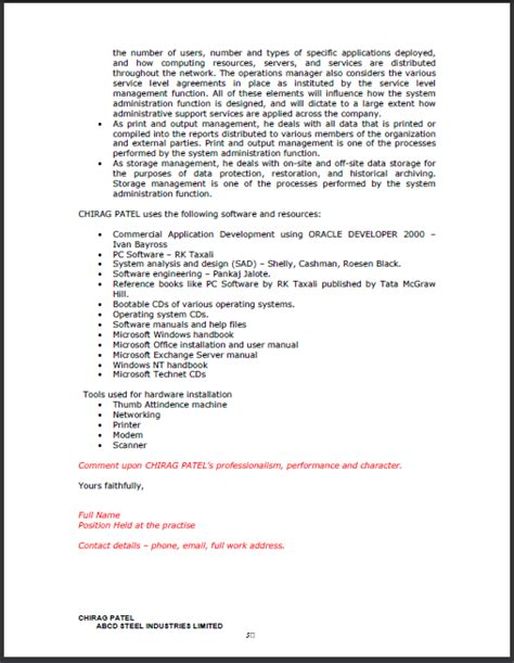 Work Experience Letter For Network Administrator Fresh And Free Resume Sles For 09 06 13 16 06 13