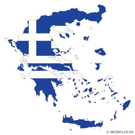greece map vector flag vector map of greece vectors
