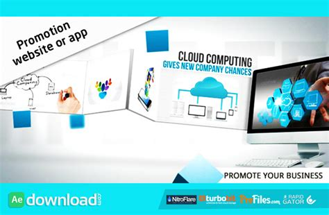 promotion website app videohive project free download