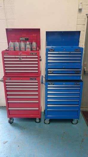 heavy duty drawer runners ireland tmus tool chest 15 drawer 3 pc roller chest in rathcoole
