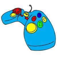 console giochi per bambini disegno di console giochi da colorare per bambini