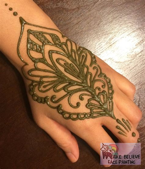 henna tattoos make believe face painting
