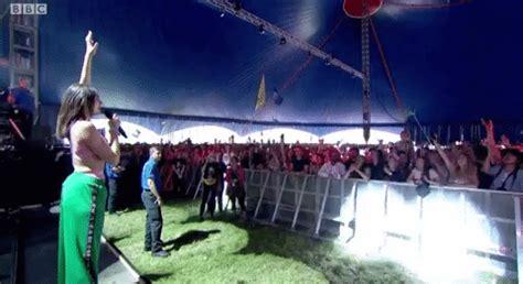 dua lipa gif dua lipa gif by glastonbury festival 2017 find share