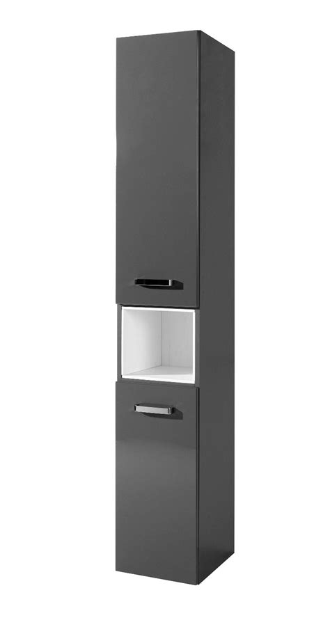 Schränkchen 30 Cm Breit by Lill 197 Ngen Hochschrank 1 T 252 R Edelstahl Aluminium
