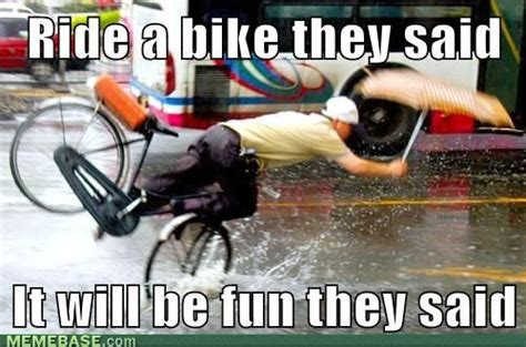 Funny Bike Memes - cycling fail meme