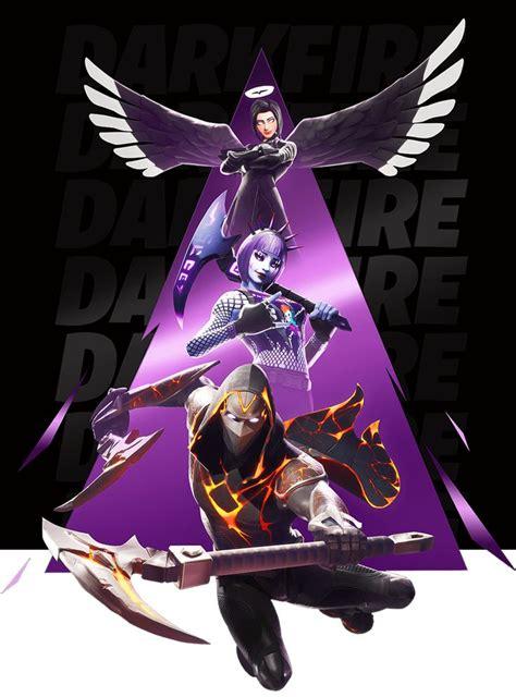 fortnite darkfire bundle fortnite cool avatars anime