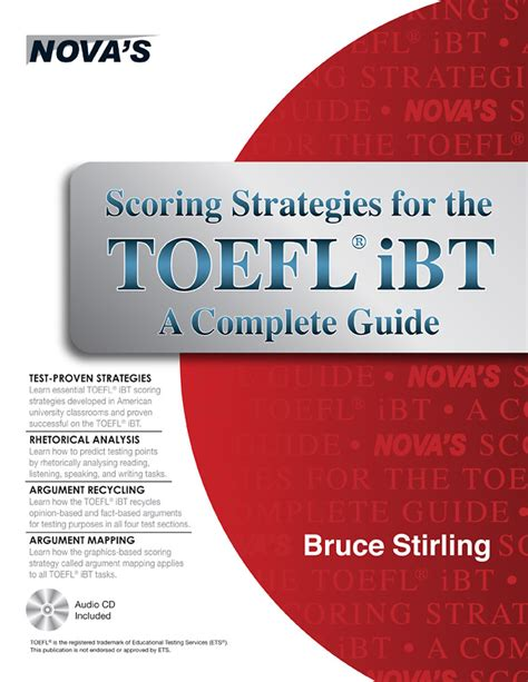 toefl strategies a complete guide to the ibt books toefl prep books press test prep center