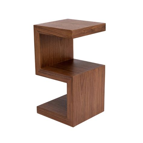Dwell Side Table S Side Table Walnut Dwell