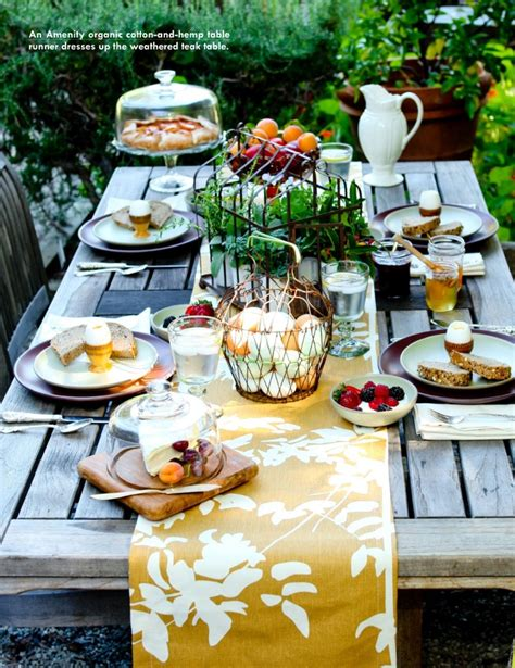 outdoor table setting outdoor rustic easter party table setting festive ideas