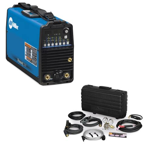 Air Ac Dc miller dynasty 200 dx tig welder and air cooled contractor