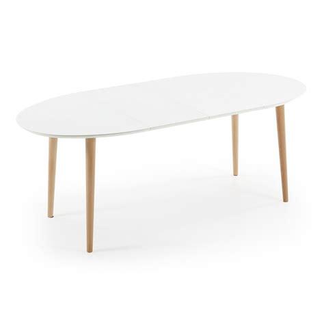 piano tavolo legno tavolo allungabile in legno piano bianco opaco ian