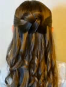 Moda cabellos peinados de fiesta con ondas verano 2014 peinados